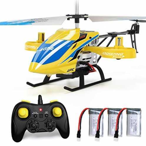 nachhaltig JJRC RC Hubschrauber mit Fernbedienung, JX02 Hubschrauber 4 Kanal mit Seitenpropellern ... ökologisch