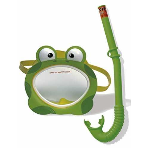 nachhaltig Intex Kinder Taucherset Bestehnd Schnorchel Froggy Fun Phthalates Free, 55940 ökologisch