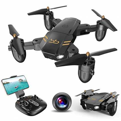 nachhaltig ScharkSpark Drohne Guard für Anfänger, Drohne mit FPV HD Kamera/Video, Tragbarer RC-Qua... ökologisch