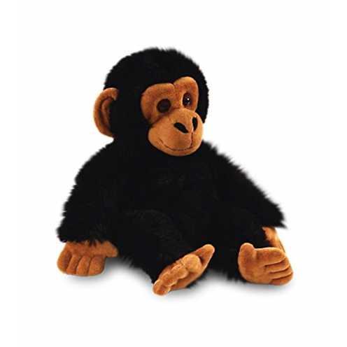 nachhaltig Keel Toys Stofftier Schimpanse 20cm ökologisch