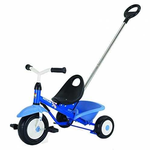 nachhaltig Kettler Funtrike Waldi - das coole Dreirad mit Schiebestange - Kinderdreirad für Kinder ab 2 Jahren - stabiles Kinder... ökologisch