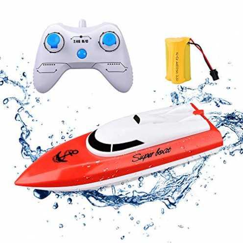 nachhaltig KINGBOT Rc Boot Fernbedienung Boot für Pools & Seen 2,4 GHz 10 km / h Hochgeschwindigke... ökologisch