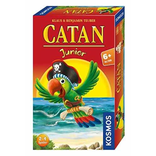 nachhaltig KOSMOS - CATAN Junior Mitbringspiel, kompaktes Brettspiel für Kinder ab 6 Jahren, Strategiespiel für 2 - 4 Spieler, G... ökologisch
