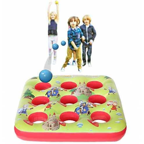 nachhaltig Kreatives Kraft-Ziel-Ball-aufblasbares Spiel für Kinderpartei-Sommer-Spiele im Freien f... ökologisch