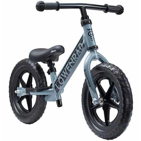 nachhaltig LÖWENRAD Kinderlaufrad ab 3, 4 Jahre, 12 Zoll Jungen und Mädchen Laufrad, leichtes Kind... ökologisch