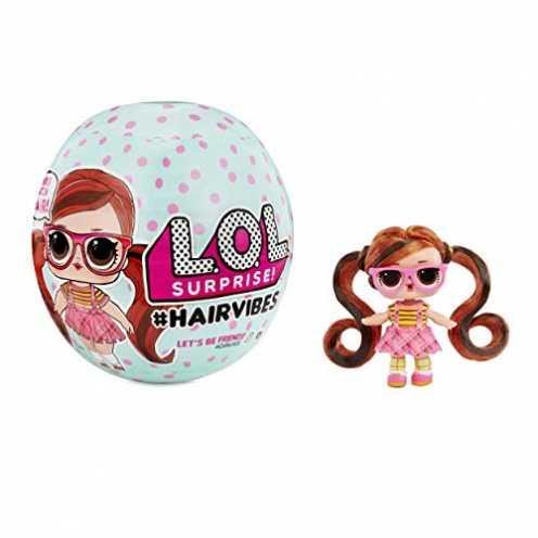nachhaltig L.O.L. 564751E7C Hairvibes Dolls with 15 Surprises and Mix & Match Hair Pieces Sammelfigur, Multi ökologisch