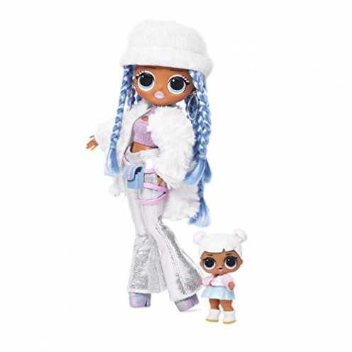nachhaltig L.O.L. Surprise! 561828E7C  O.M.G. Fashion Doll Winter Disco Snowlicious Snow Angel & Little Sister, Fashionpuppe mit... ökologisch