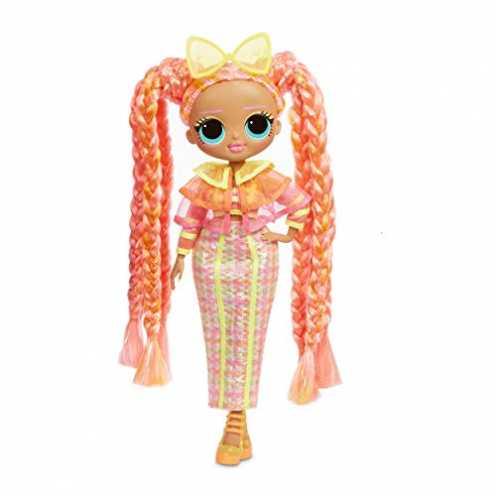 nachhaltig L.O.L. Surprise! 565185E7C O.M.G. Fashion Doll Lights Series Dazzle, Anziehpuppe mit Haaren & Neonlicht-Effekt und 15... ökologisch