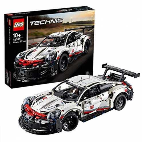 nachhaltig Lego 42096 Technic Porsche 911 RSR, bunt ökologisch