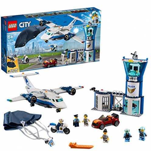 nachhaltig Lego 60210 City Polizei Fliegerstützpunkt, bunt ökologisch