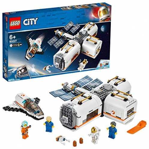 nachhaltig LEGO 60227 - City Mond Raumstation, Bauset ökologisch