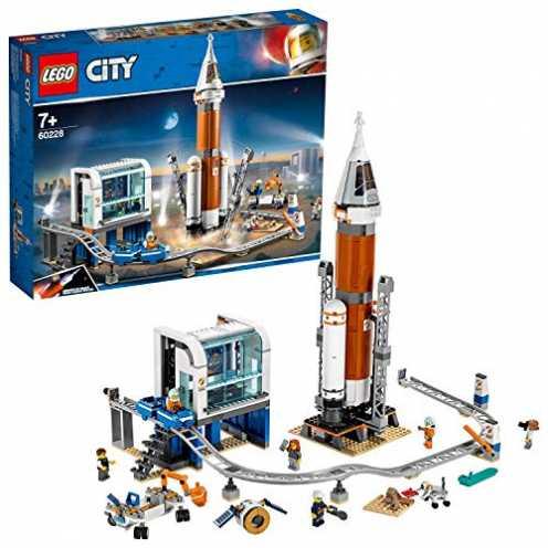 nachhaltig LEGO 60228 - City Weltraumrakete mit Kontrollzentrum, Bauset ökologisch