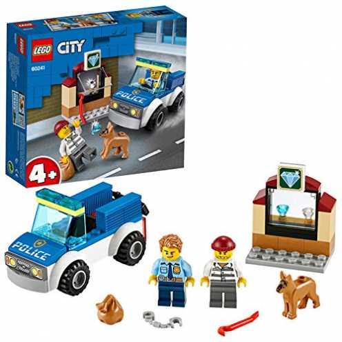 nachhaltig LEGO 60241 - Polizeihundestaffel, City, Bauset ökologisch