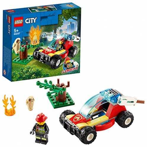 nachhaltig LEGO 60247 - Waldbrand, City, Bauset ökologisch