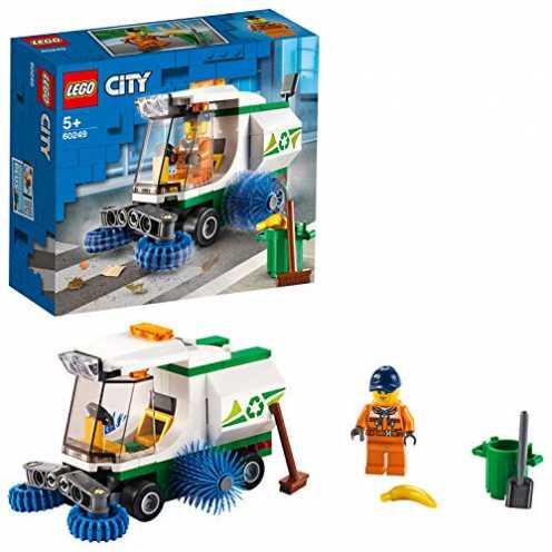 nachhaltig LEGO 60249Straßenkehrmaschine City Bauset für Kinder ab 5 Jahren ökologisch