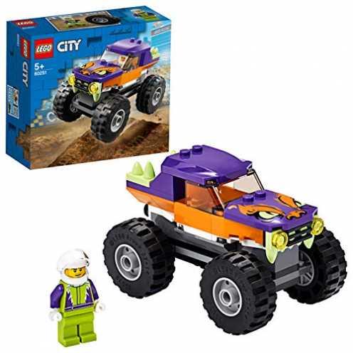 nachhaltig LEGO 60251 Monster-Truck City Spielzeug für Kinder ab 5 Jahren ökologisch