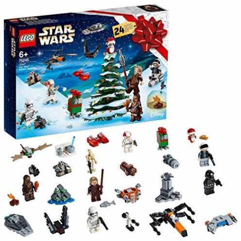 nachhaltig LEGO 75245 Star Wars Adventskalender, Bauset, Mehrfarbig ökologisch