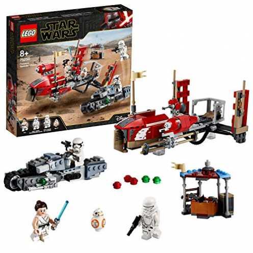 nachhaltig LEGO 75250 Star Wars Pasaana Speeder Jagd, Bauset, Mehrfarbig ökologisch
