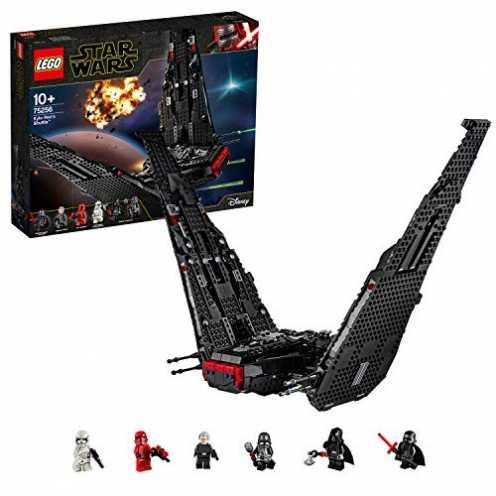 nachhaltig LEGO 75256 Star Wars Kylo Rens Shuttle, Bauset, Mehrfarbig ökologisch