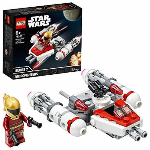 nachhaltig LEGO 75263 - Widerstands Y-Wing Microfighter, Star Wars, Bauset ökologisch