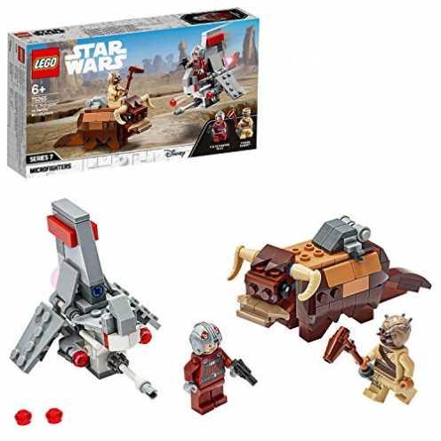 nachhaltig LEGO 75265 - T-16 Skyhopper vs Bantha Microfighters, Star Wars, Bauset ökologisch