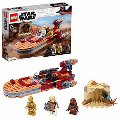 nachhaltig LEGO 75271 - Luke Skywalkers Landspeeder, Star Wars, Bauset ökologisch
