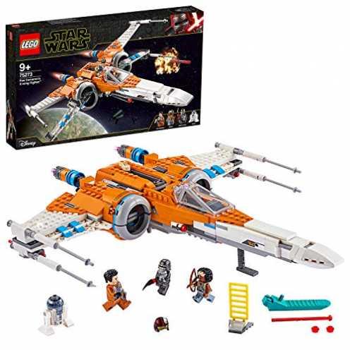nachhaltig LEGO 75273 - Poe Damerons X-Wing Starfighter, Star Wars, Bauset ökologisch