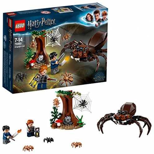 nachhaltig LEGO75950 HarryPotter und die Kammer des Schreckens, Aragogs Versteck, Bauset ökologisch