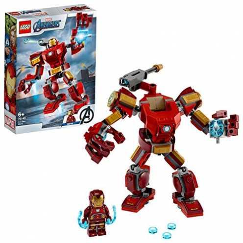 nachhaltig LEGO 76140 Marvel Super Heroes Iron Man Mech Kampf-Actionfigur ökologisch