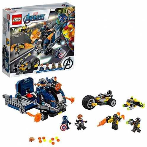 nachhaltig LEGO 76143 Marvel Super Heroes Avengers Truck-Festnahme Spielset ökologisch
