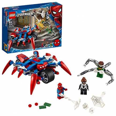 nachhaltig LEGO 76148 Marvel Super Heroes Spider-Man vs. Doc Ock Bauset ökologisch