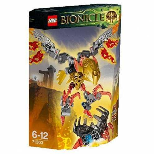 nachhaltig LEGO Bionicle 71303 - Ikir Kreatur des Feuers ökologisch