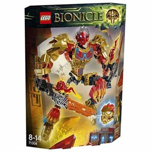 nachhaltig LEGO Bionicle 71308 - Tahu Vereiniger des Feuers ökologisch