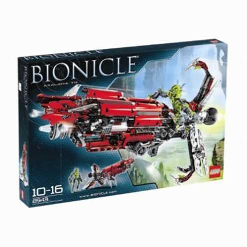 nachhaltig LEGO Bionicle 8943 - Axalara T9 ökologisch