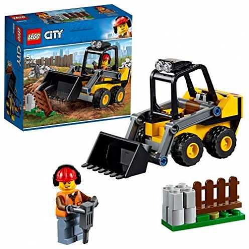 nachhaltig LEGO City 60219 Frontlader ökologisch