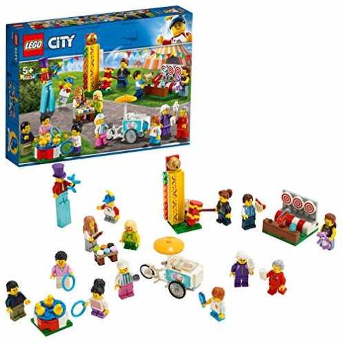 nachhaltig LEGO City 60234 - Stadtbewohner - Jahrmarkt ökologisch