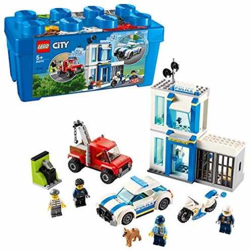 nachhaltig LEGO City 60270 Polizei-Steinebox 301 Teile . ökologisch
