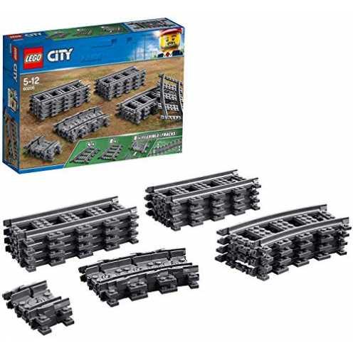 nachhaltig LEGO City Schienen (60205), Kinderspielzeug ökologisch