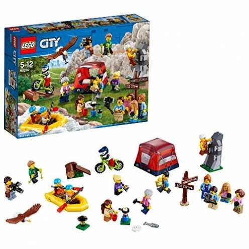 nachhaltig LEGOCity Stadtbewohner - Outdoor-Abenteuer (60202) Kinderspielzeug ökologisch