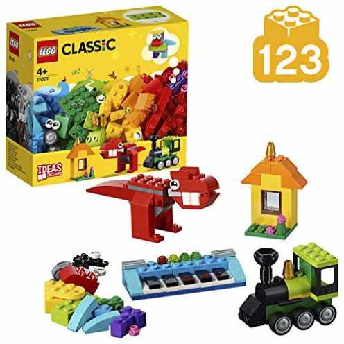 nachhaltig LEGO Classic 11001 - Bausteine - Erster Bauspaß ökologisch