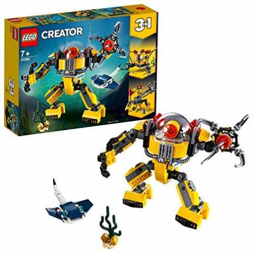 nachhaltig LEGO Creator 31090 - Unterwasser-Roboter ökologisch