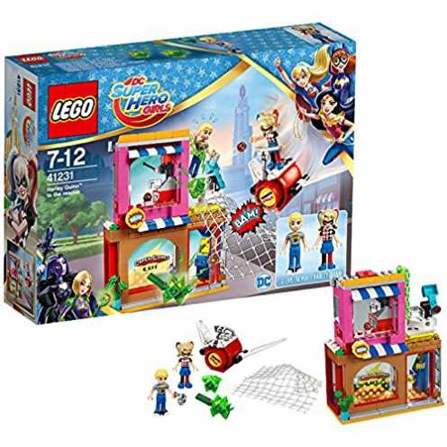 nachhaltig LEGO DC Super Hero Girls 41231 - Harley Quinn eilt zu Hilfe, DC Sammlerstück ökologisch
