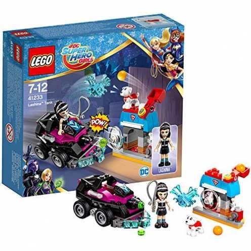 nachhaltig LEGO DC Super Hero Girls 41233 - Lashinas Action-Cruiser, Superhelden-Spielzeug ökologisch