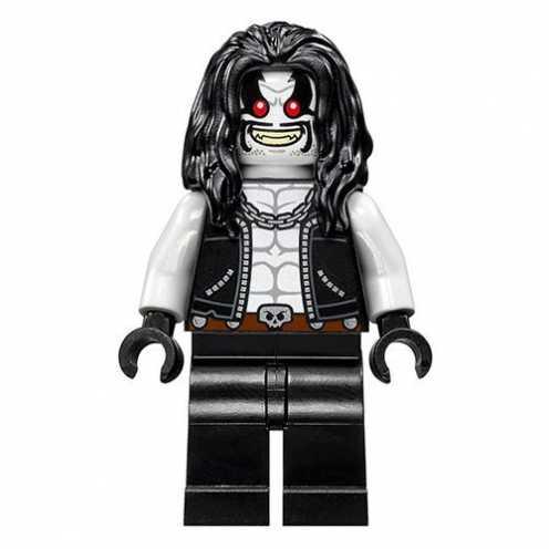 nachhaltig LEGO DC Super Heroes Lobo Minifigure - Split from 76096 (Bagged) ökologisch