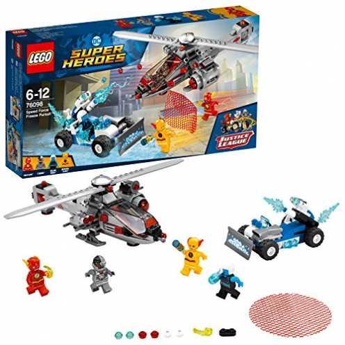 nachhaltig LEGO DC Super Heroes Speed Force Freeze Verfolgungsjagd 76098 Superheldenspielzeug für Kinder ökologisch