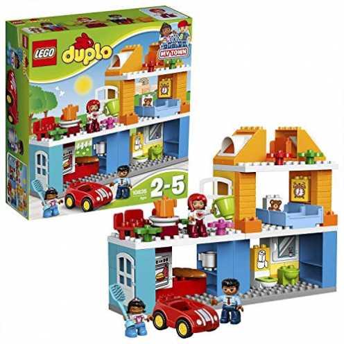 nachhaltig LEGO Duplo 10835 - Familienhaus, Spielzeug für drei Jährige ökologisch