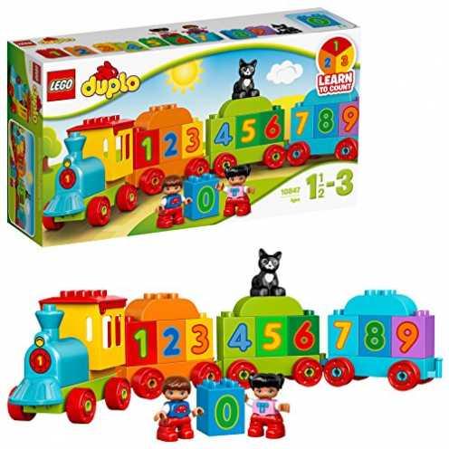 nachhaltig LEGO Duplo 10847 - Zahlenzug, Vorschulspielzeug ökologisch