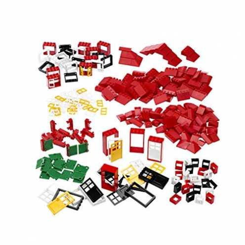 nachhaltig LEGO Education Fenster Tueren und Dachsteine, 278 Stück ökologisch