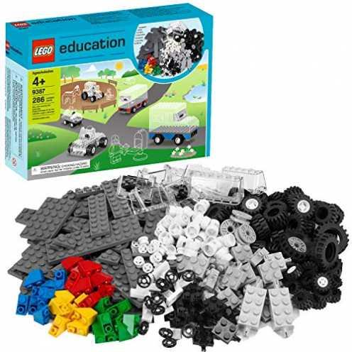nachhaltig Lego Education Räder Set 9387 neu ökologisch