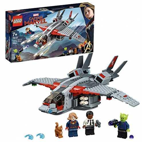 nachhaltig LEGO® Marvel Super HeroesTM  Captain Marvel und die Skrull-Attacke ökologisch